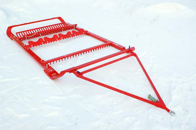 Борона SNOWPRO для прокладки коньковой лыжни